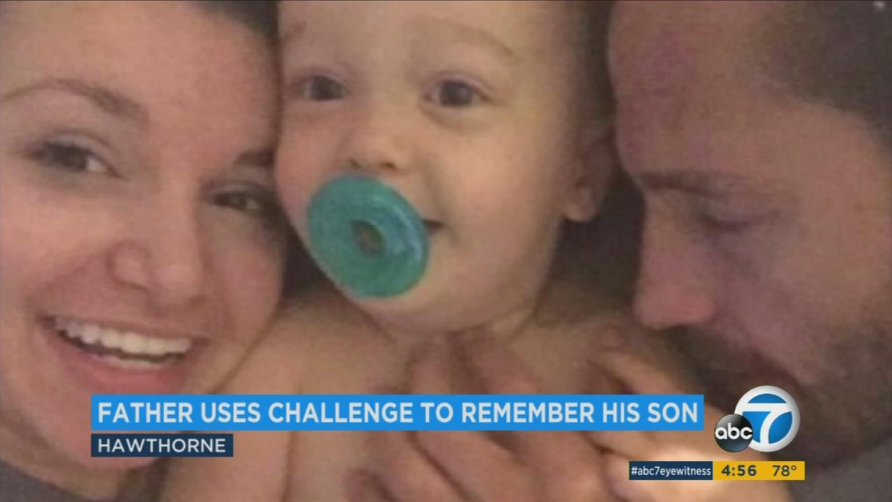 MMA fighter Marcus Kowal is working to keep his sons memory alive with the 100 kick challenge.