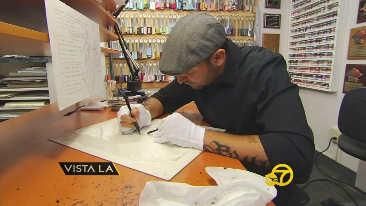 Antonio Pelayo grew up near the Walt Disney Studios in Burbank, and now hes living the dream as an inker.
