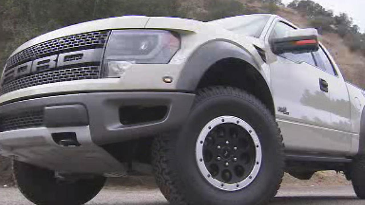 A Ford Raptor is seen in this undated file photo.