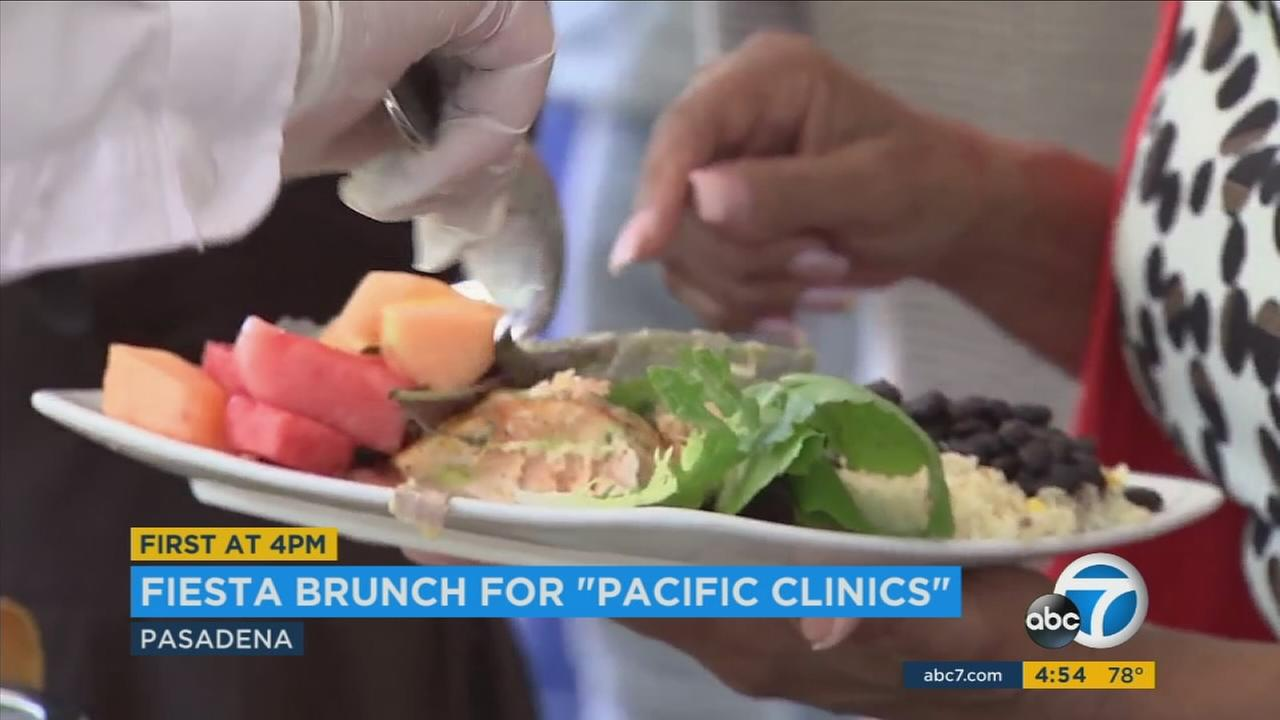 The music was playing and the fiesta atmosphere was alive in Pasadena Sunday.A fiesta brunch was held to celebrate 90 years of service for Pacific Clinics.