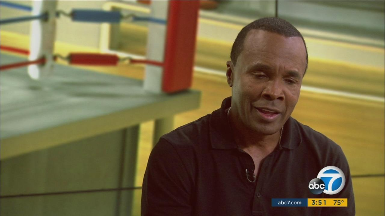 Boxing legend Sugar Ray Leonard speaks with Eyewitness News about his efforts to fight pediatric diabetes.