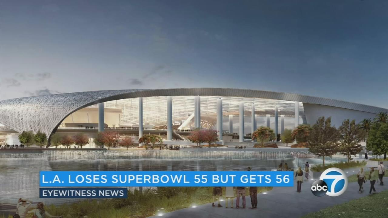 2021 Super Bowl to move from Inglewood to Tampa