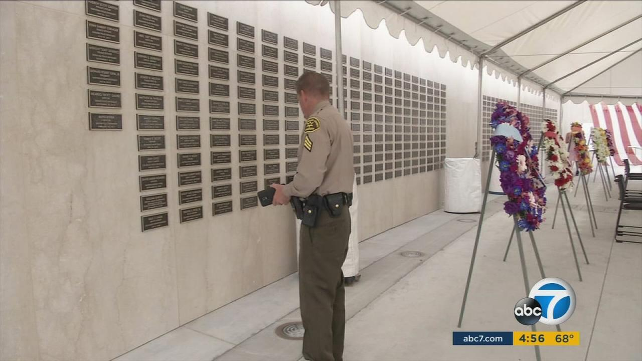 Today we honor the memory of three fallen heroes who gave their lives in 2016-2017 while serving the residents of Los Angeles County, said L.A County Sheriff, Jim McDonnell. We also recognize three others form the distant past.