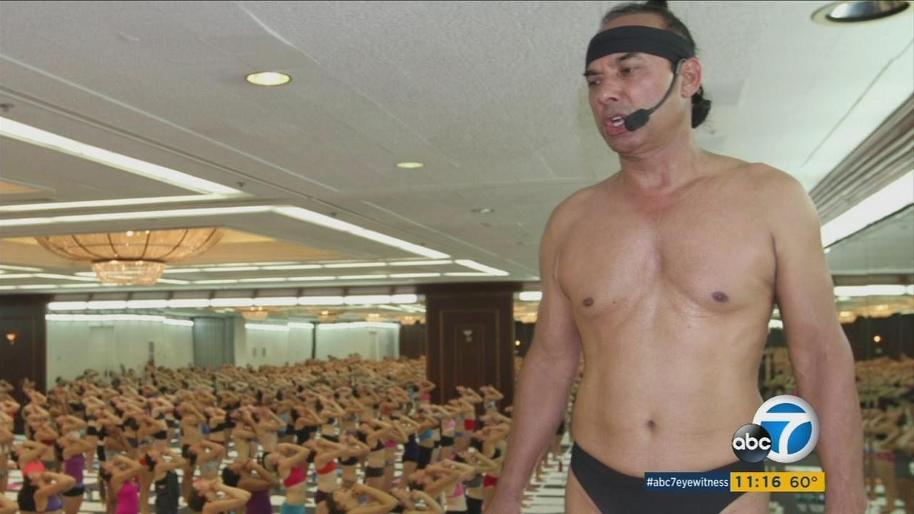 Famed yoga guru Bikram Choudhury is wanted under an arrest warrant after he failed to pay a $7 million sexual-harassment judgment and instead fled the country.