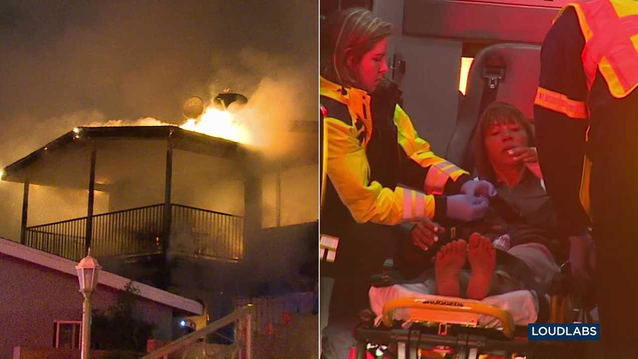 Ladera Heights mom saves kids from burning apartment by throwing them from window