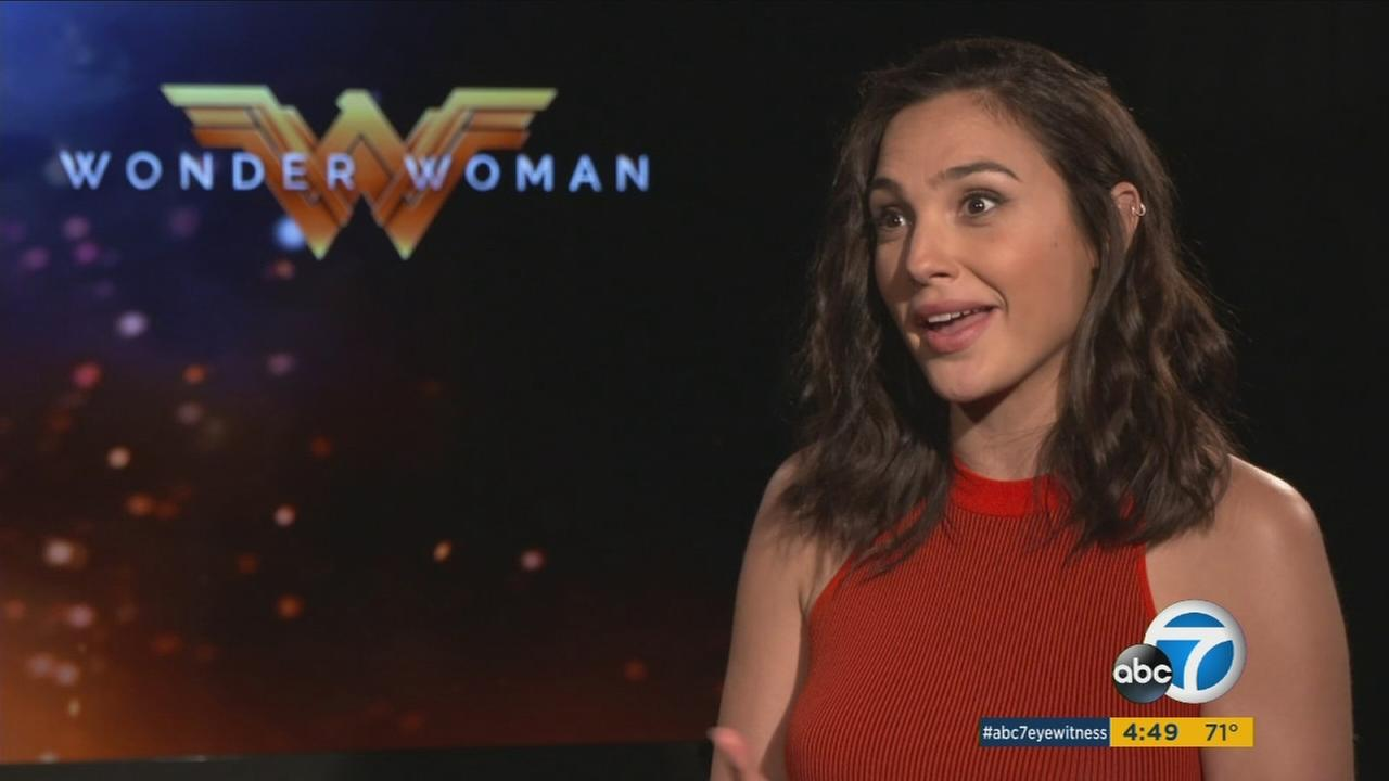 Gal Gadot went through intense physical training for her lead role in Wonder Woman and is finding the hard work paid off.