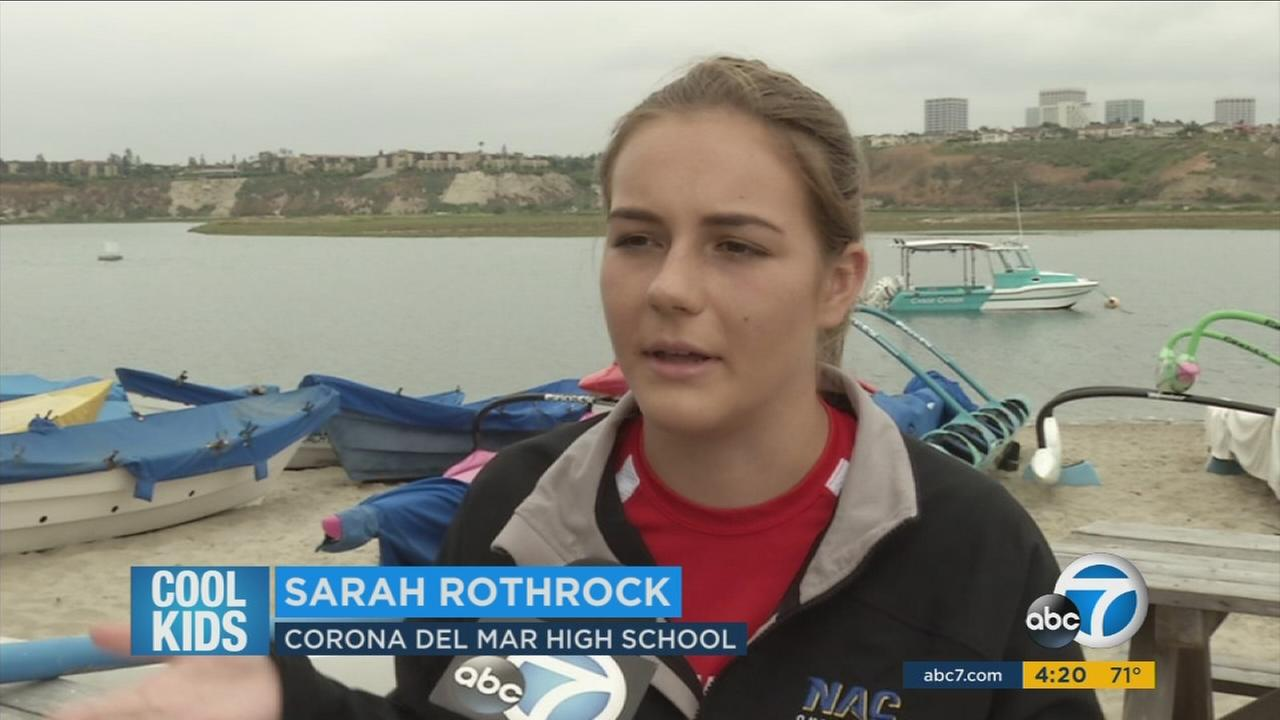This Weeks ABC7 Cool Kid is 17-year-old Sara Rothrock. She is very busy high school junior who accomplishes so much outside of the classroom.