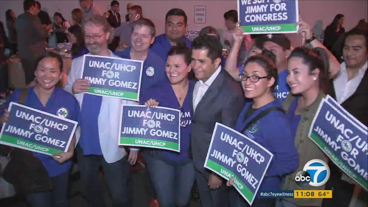 Democratic state Assemblyman Jimmy Gomez has won in the special election for Californias Congressional District 34.