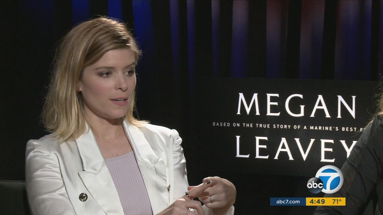 Kate Mara stars in the new film Megan Leavey.