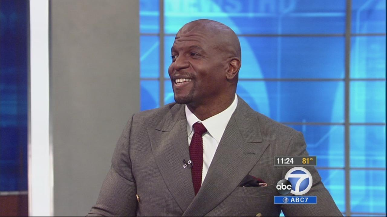 Terry Crews is seen on Eyewitness News on Tuesday, July 22, 2014.