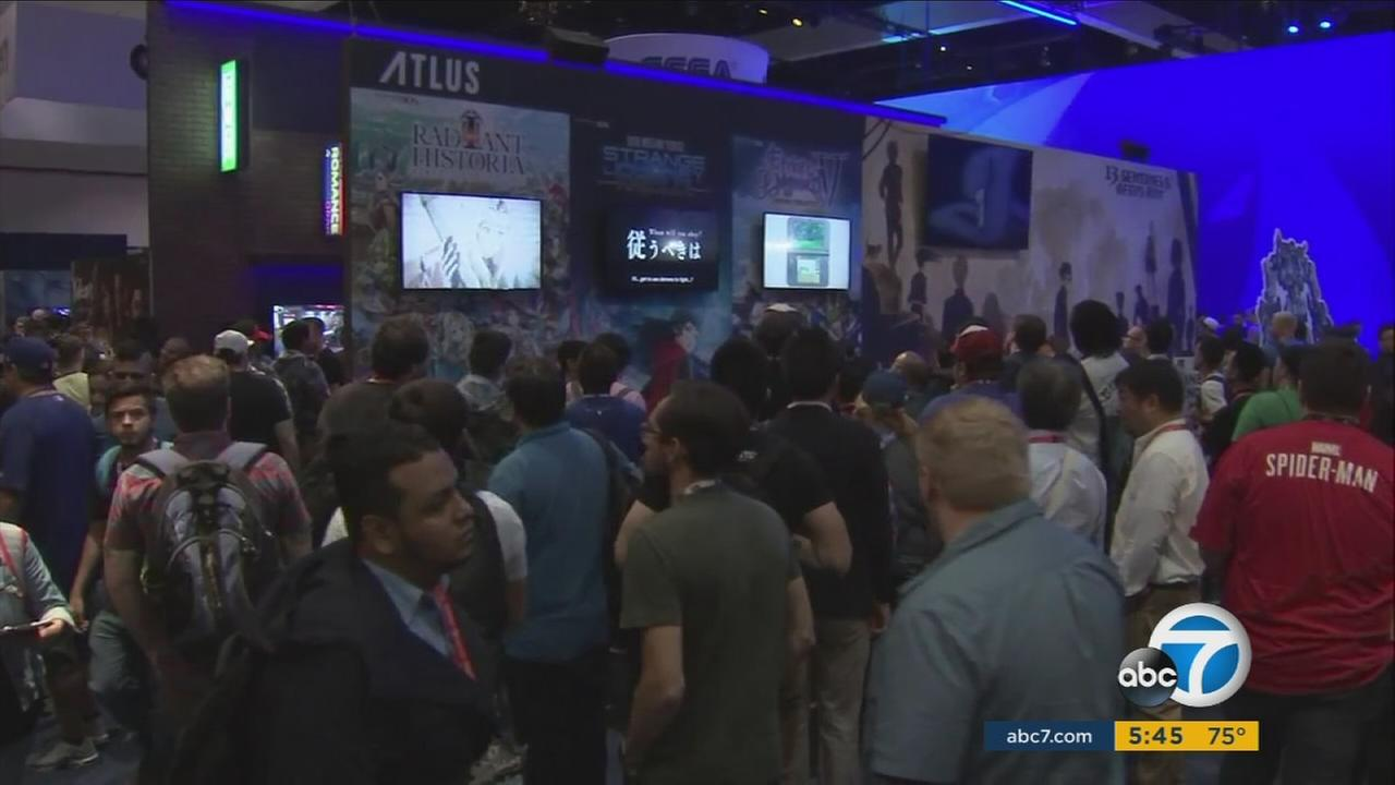 The Electronic Entertainment Expo in Los Angeles presents the latest innovations in video games.
