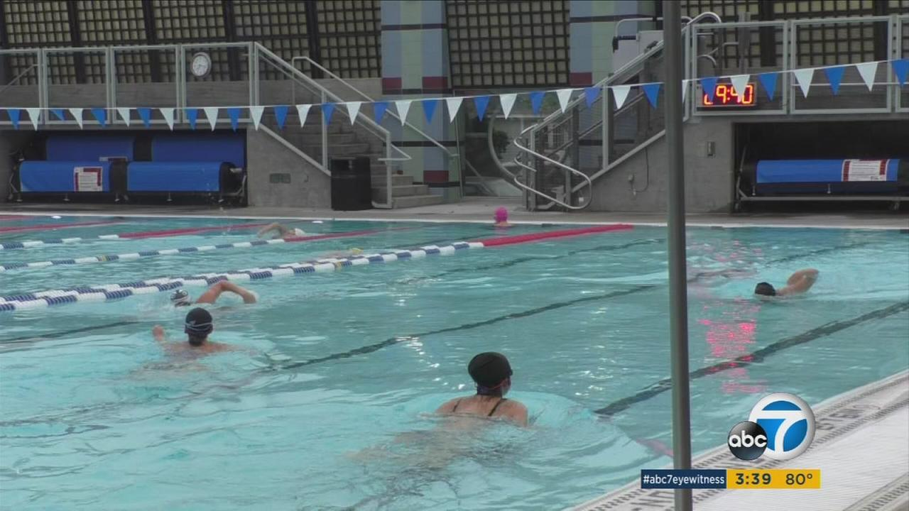 Laps are boring, so a couple of athletes created a swim class program combining Navy SEAL exercises with synchronized swimming to make water workouts fun.