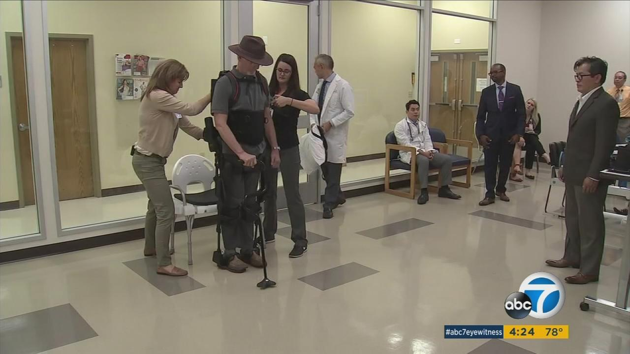 Loma Linda Medical Center has new technology to help people heal, and it is robotic.
