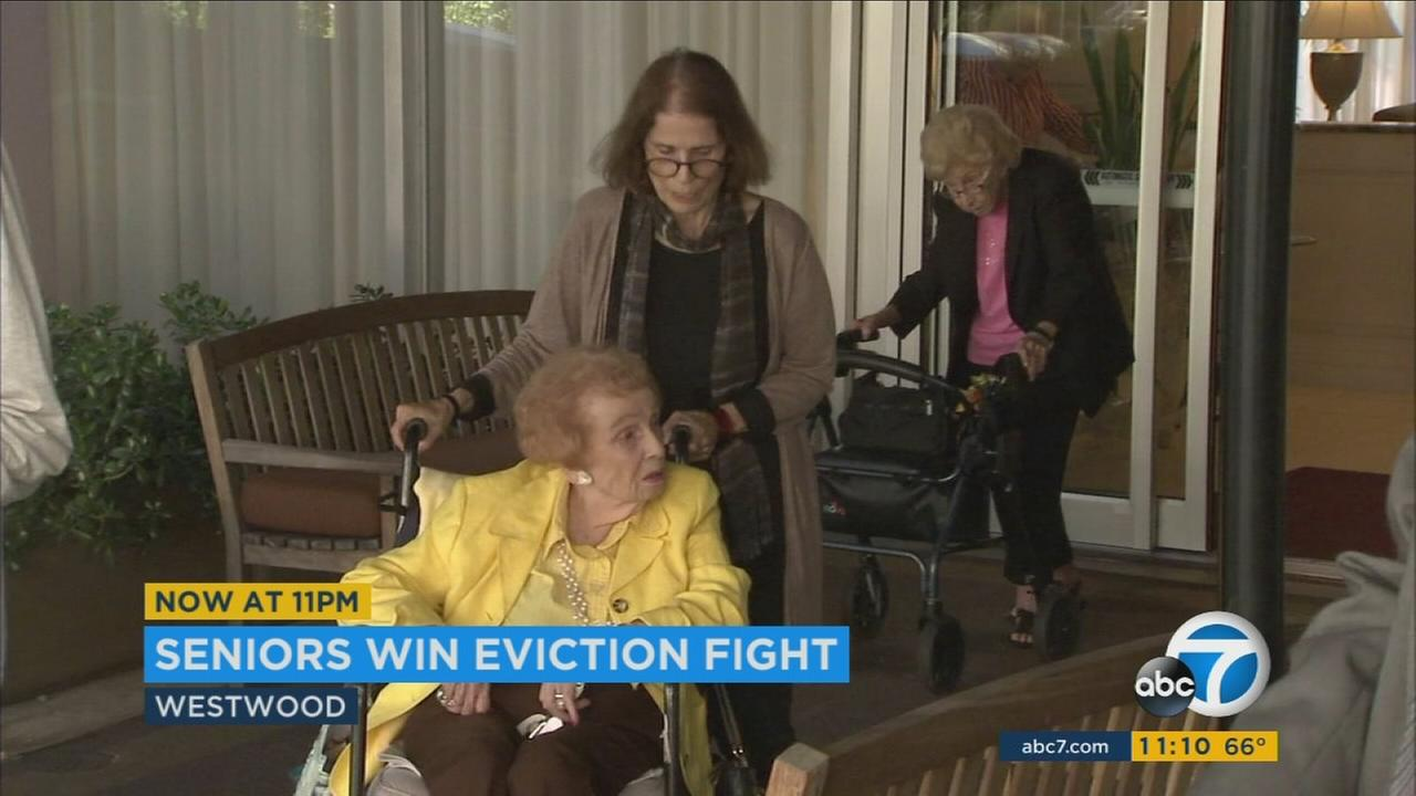 Nearly 50 elderly residents -- many of them disabled and nearly 100 years old -- were served notices last December and told they had only a matter of months to get out.