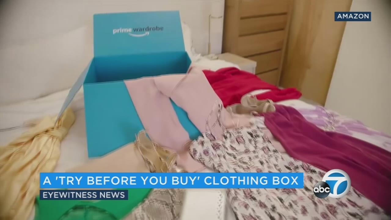 Amazon unveils a 'try before you buy' clothing plan