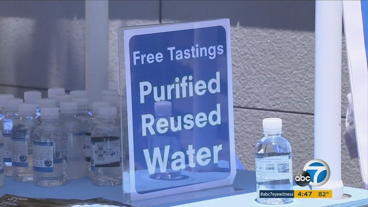 OC's 'toilet to tap' drinking water a tough sell even on a hot day