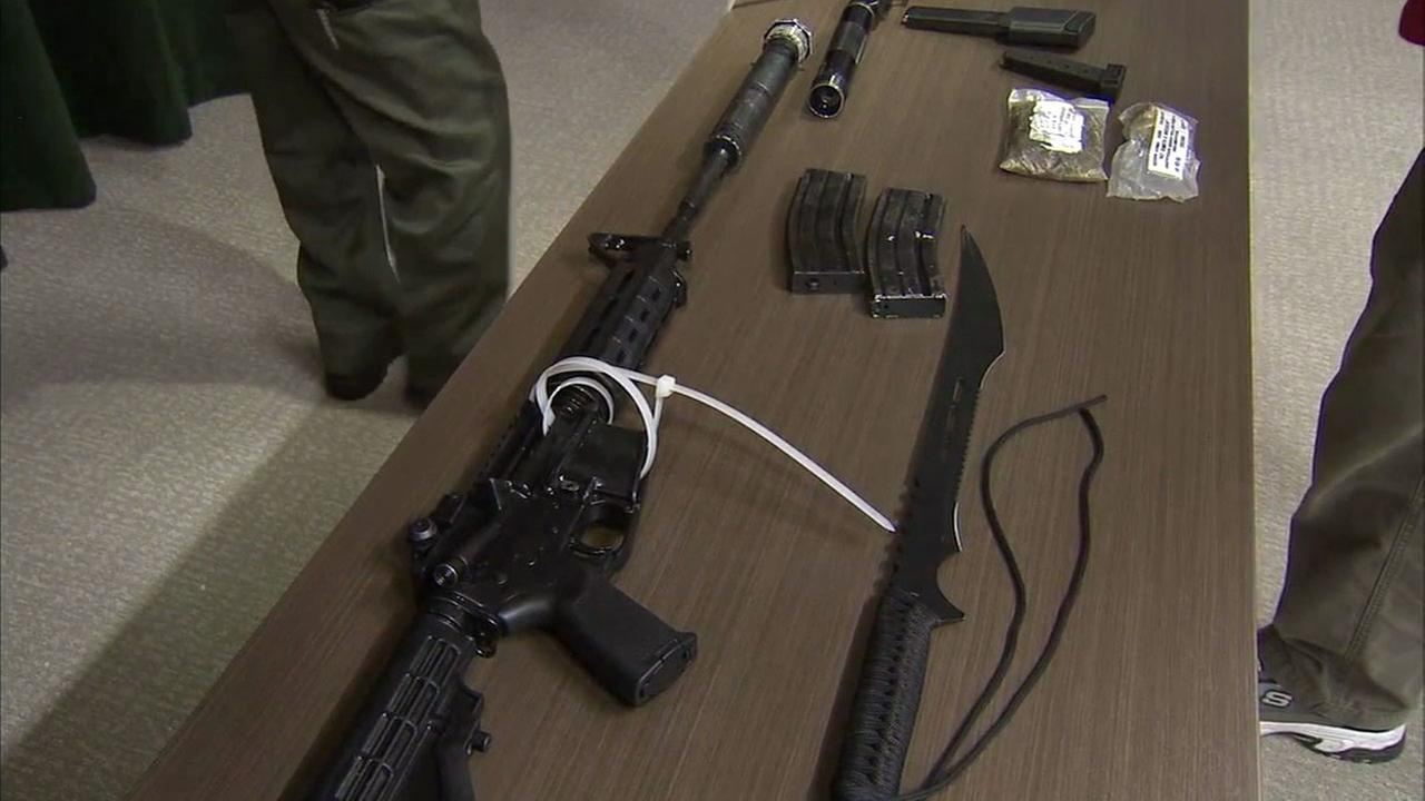 LA County deputies arrest man they say had cache of weapons at Sierra Madre station in Pasadena