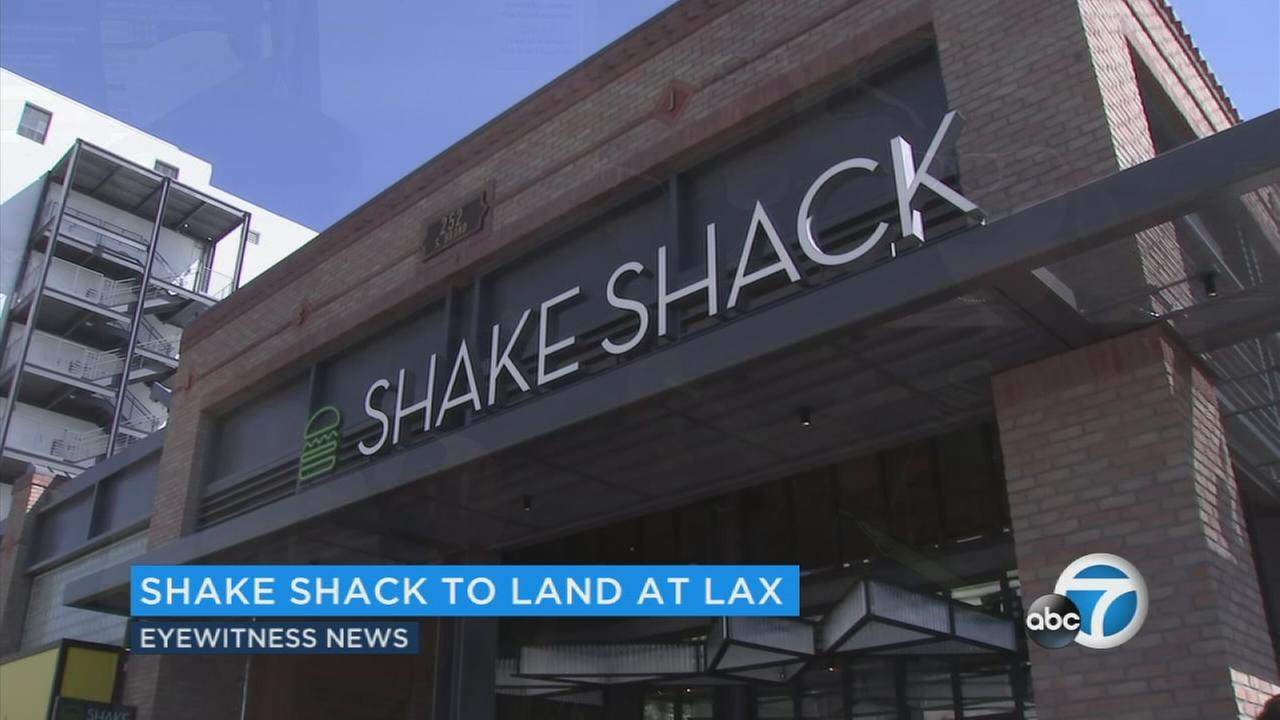 The exterior of the Shake Shack eatery in Glendale is seen in this file photo.