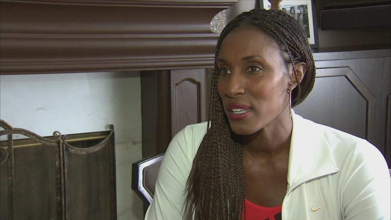 Lisa Leslie is seen in this undated file photo.