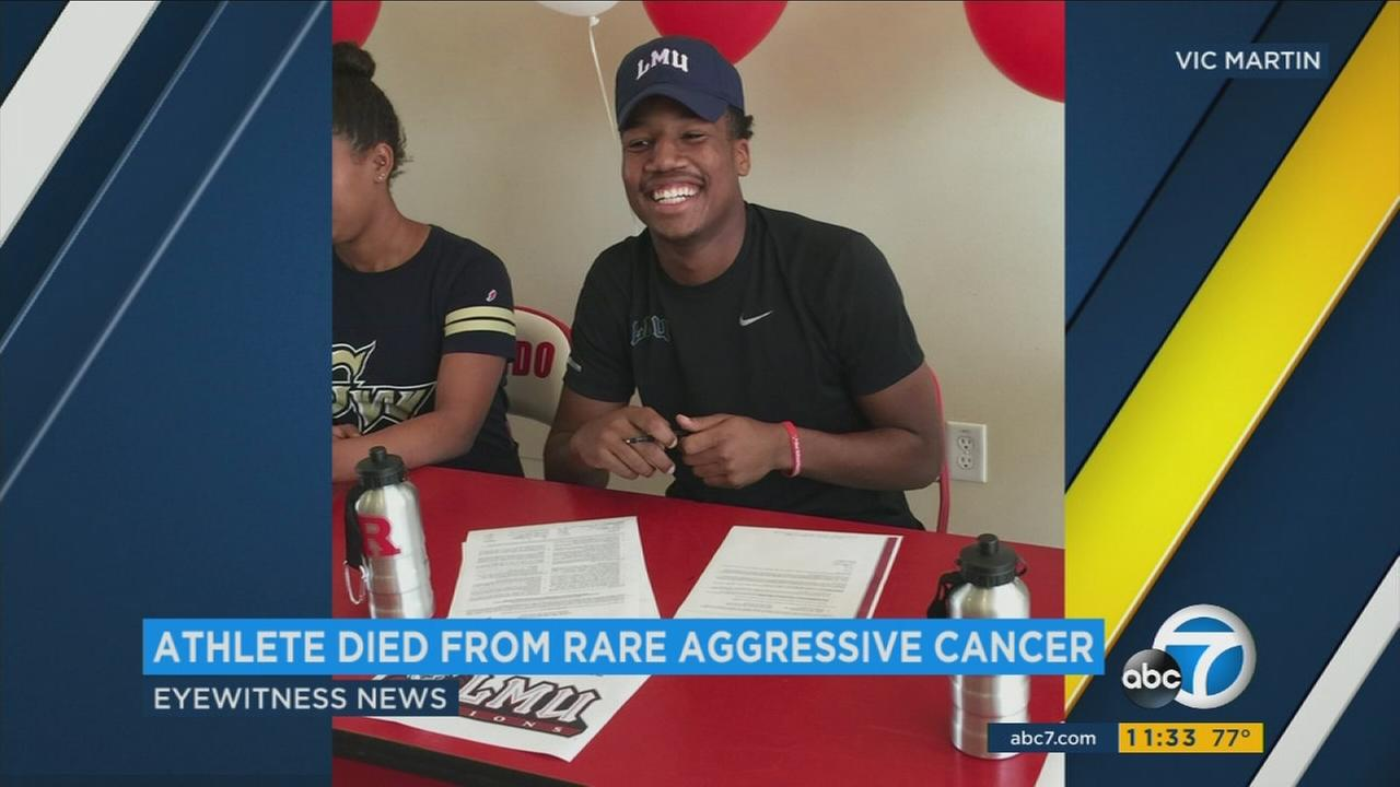 An undated photo of Ryse Williams, an 18-year-old Redondo Beach student who died of a rare form of cancer.