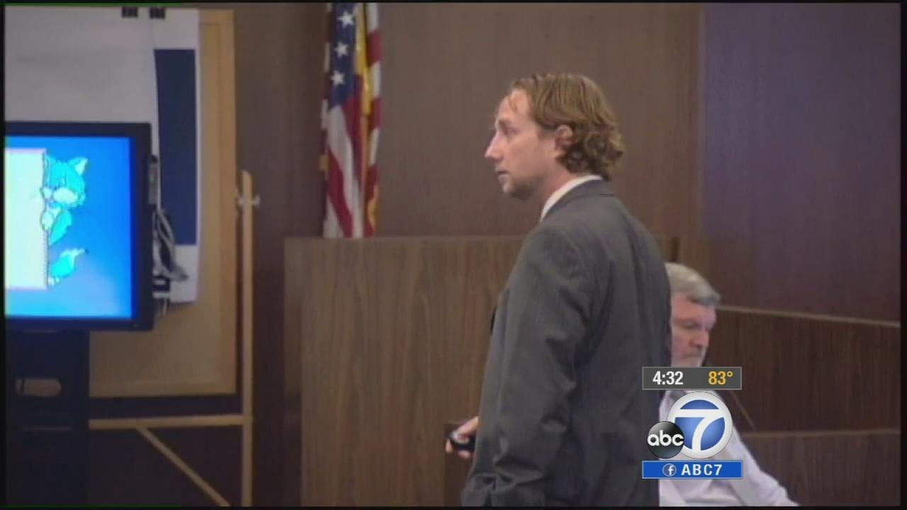 Adam Vining, Kwang Choi Joys attorney, delivers closing arguments on Wednesday, July 23, 2014.