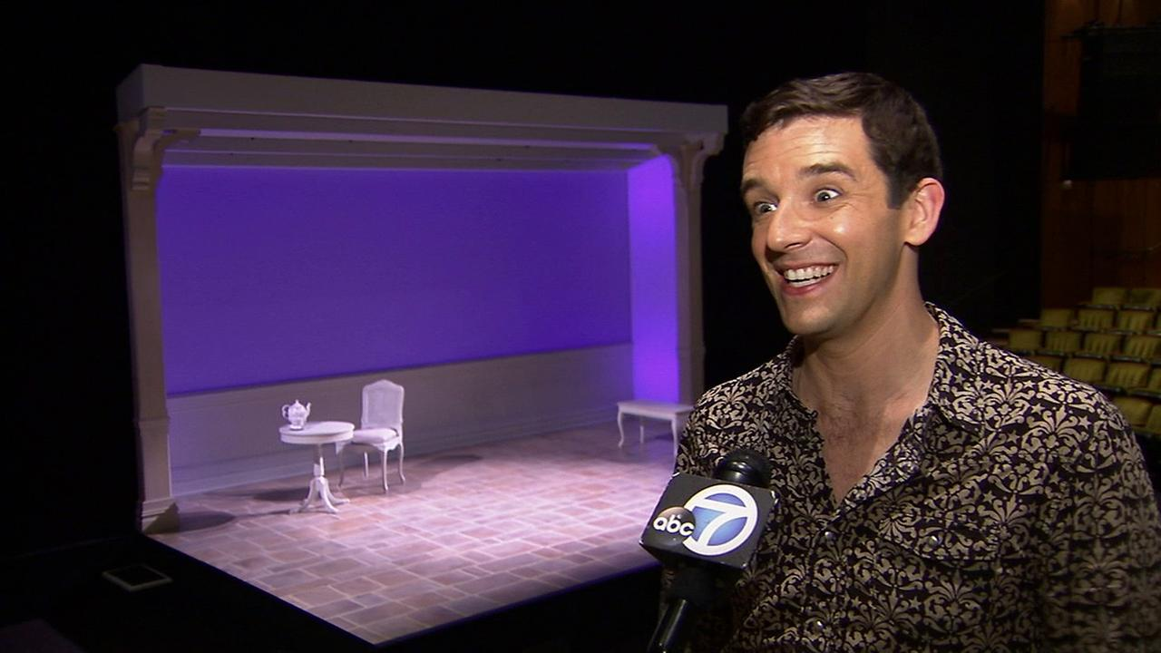 Actor Michael Urie is seen at the Mark Taper Forum on Wednesday, July 23, 2014.