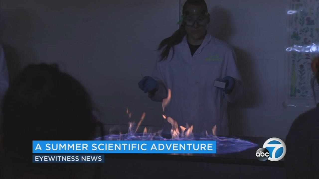 The Orange County Rescue Mission and Concordia University in Irvine provided a summer camp for homeless kids in fourth through eighth grade.
