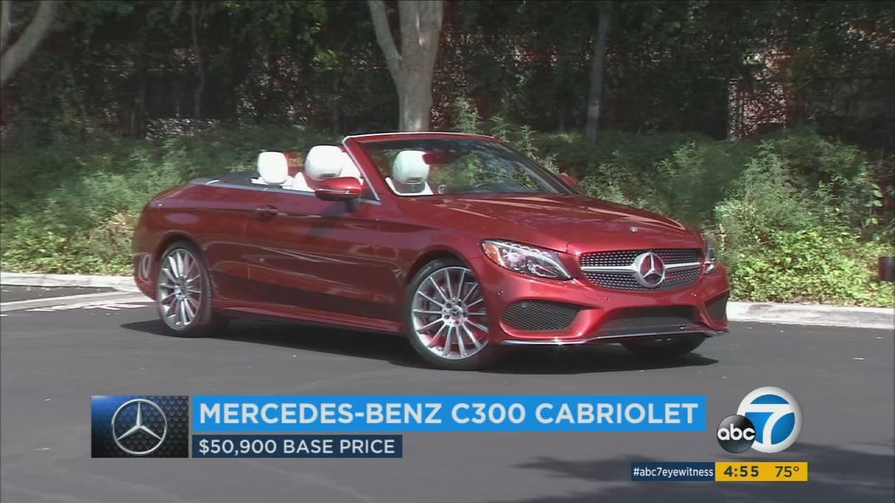 Nothing says fun in the sun quite like a Mercedes-Benz C300 Cabriolet that can drop its top.