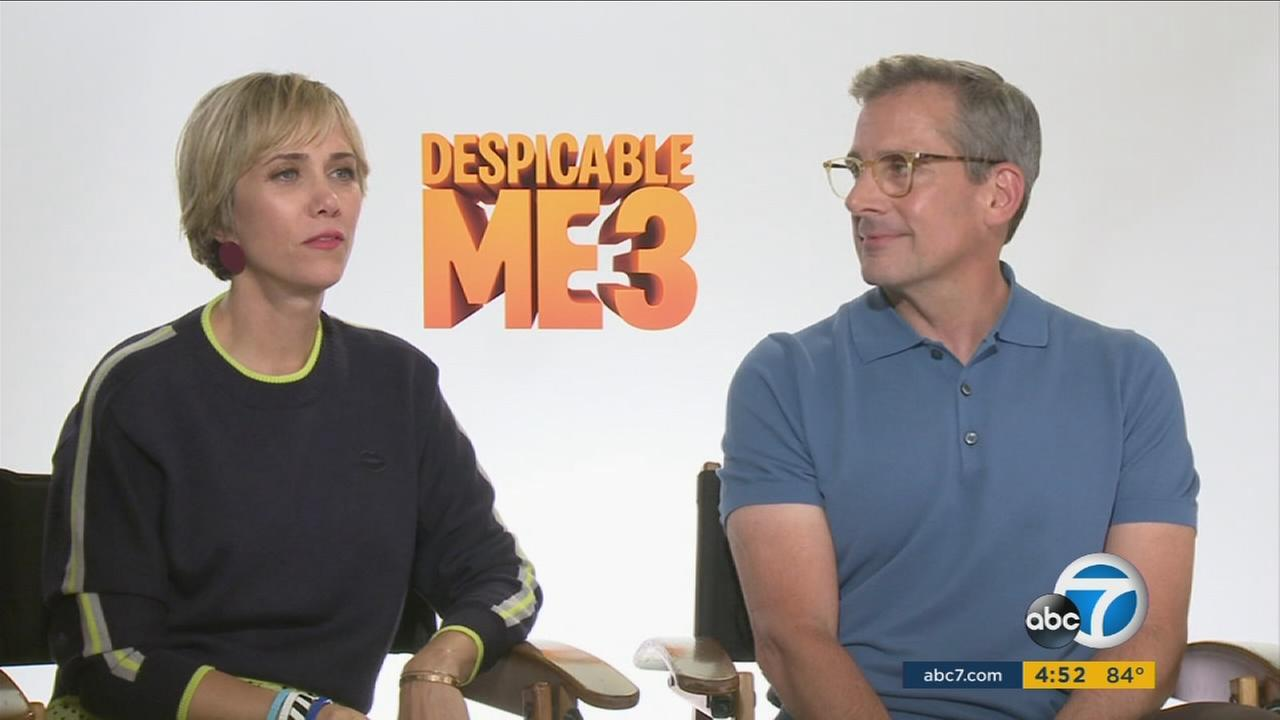 Steve Carell and Kristen Wiig are back to make us laugh again in the animated sequel Despicable Me 3.