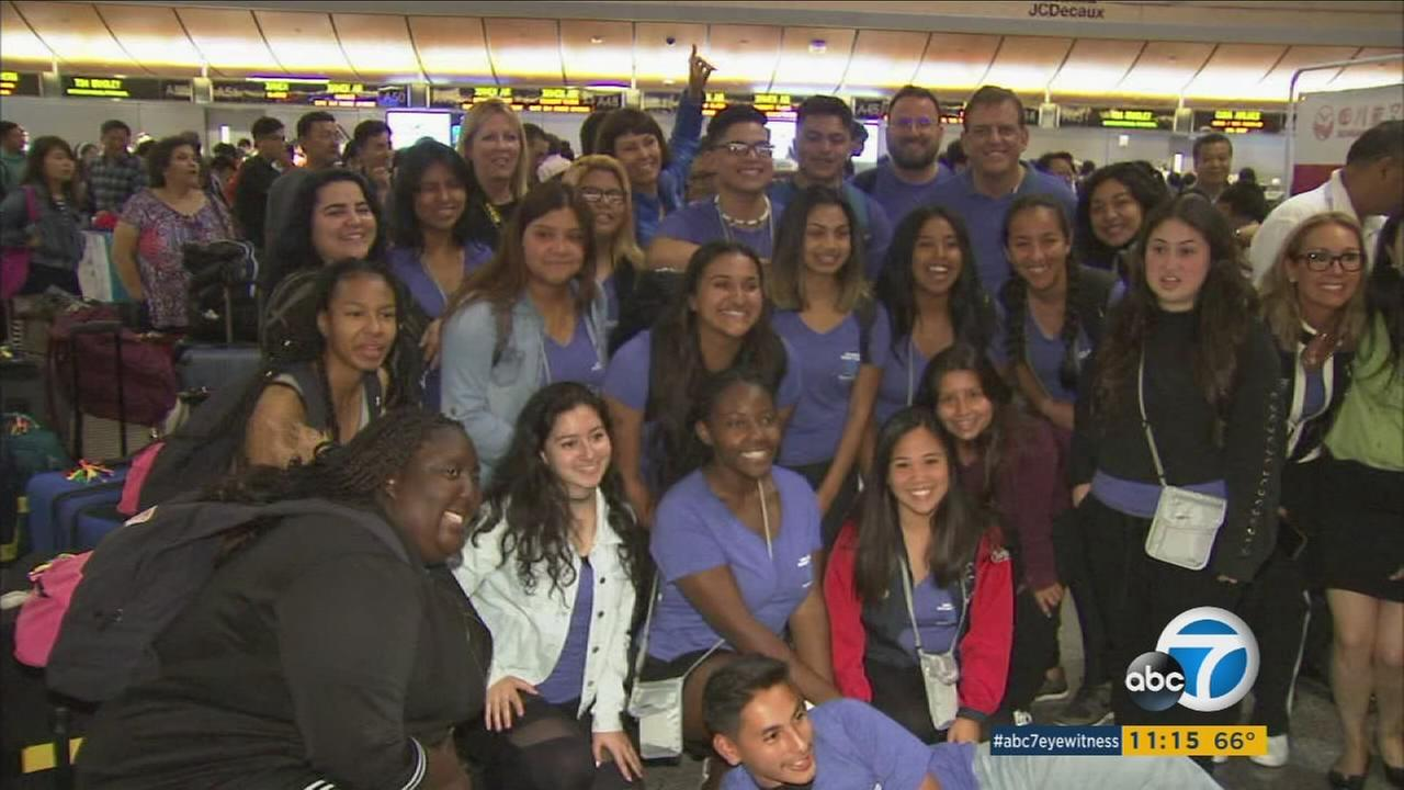 Its a once-in-a-lifetime experience for some extraordinary young people: 22 Los Angeles County Youth of the Year nominees are headed on a 10-day trip to China.