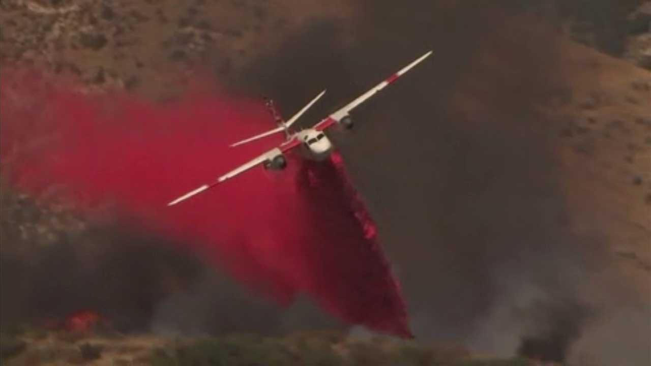 Highland fire: Firefighters make headway on 900-acre blaze