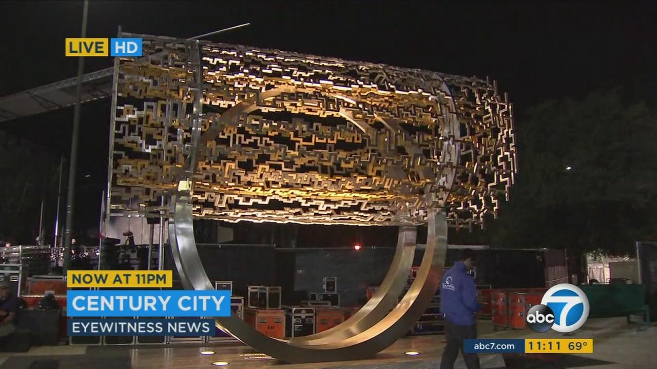 Freedom Sculpture unveiled in LA as Iranian-American community gift