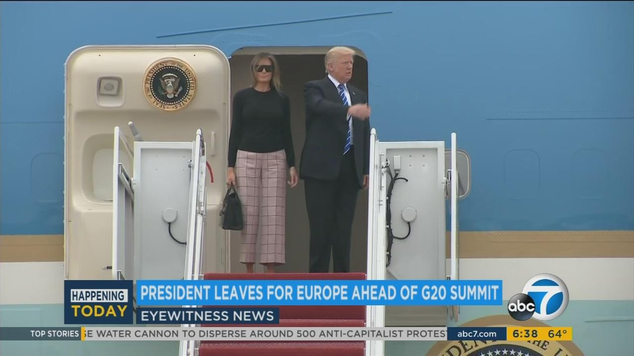 President Donald Trump is headed back to Europe hoping to receive a friendly welcome in Poland despite skepticism about his knowledge of international affairs.