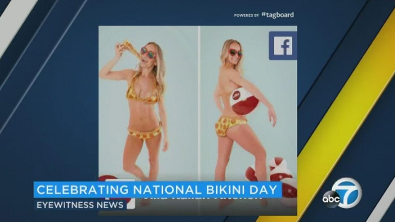 Seventy-one years ago, way back in 1946, the bikini was unveiled during a poolside fashion show in Paris.