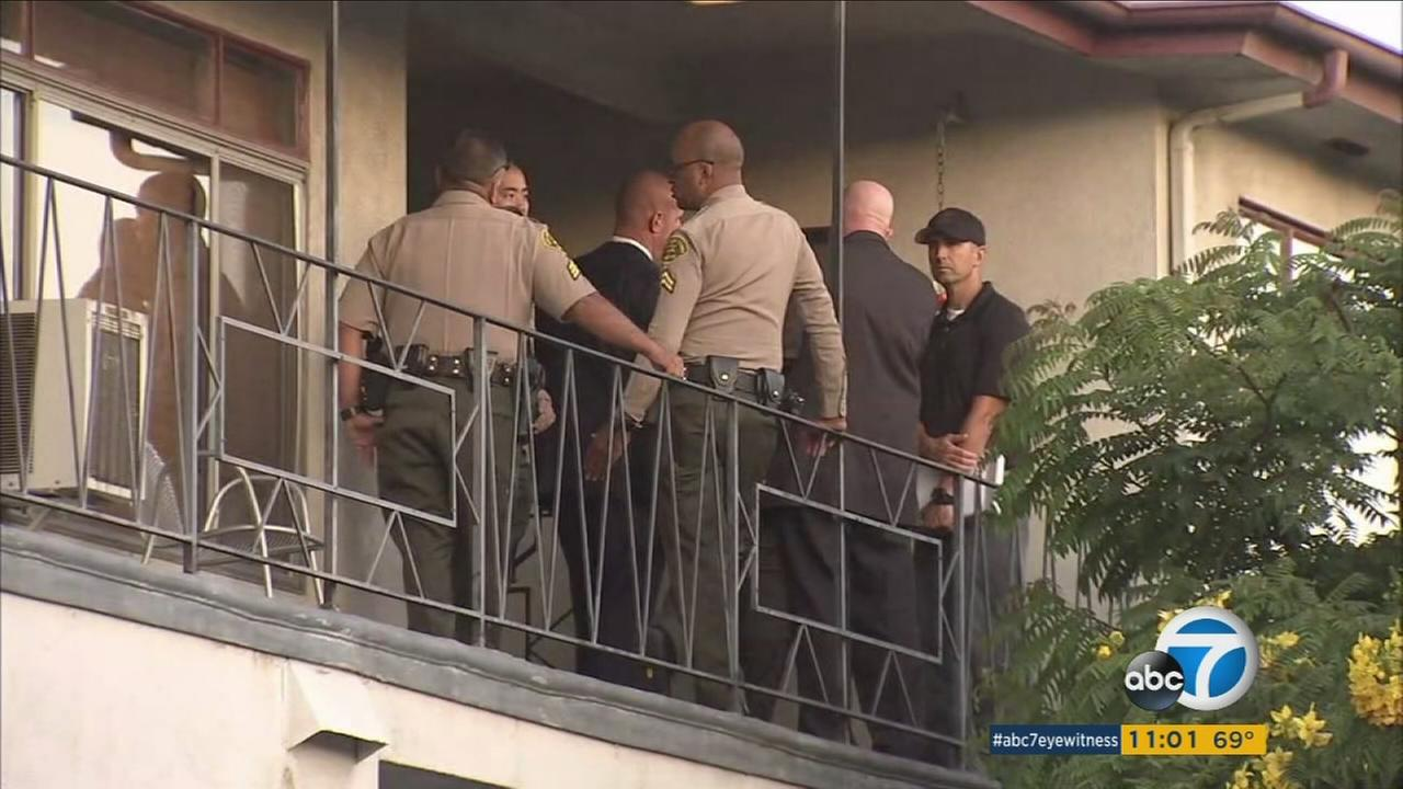 Sheriffs deputies are investigating the suspicious death of a woman found in West Hollywood.