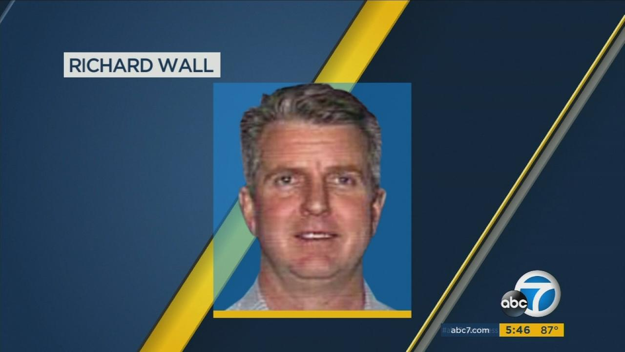 Richard Wall, a person of interest in two murders, is shown in an undated photo.