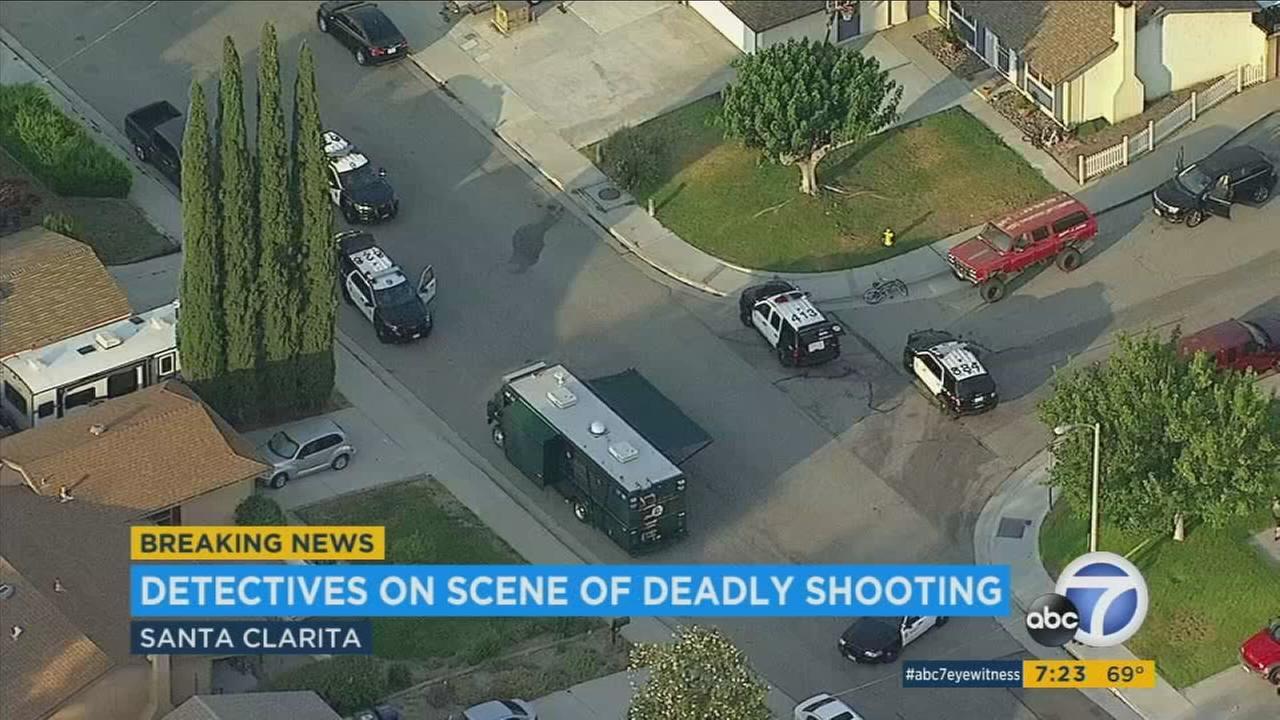 Man found shot to death in Santa Clarita
