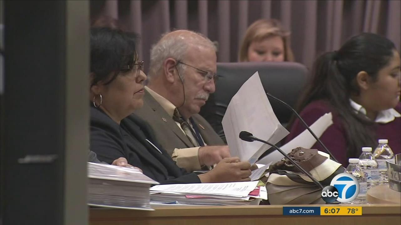 Los Angeles Unified School District board members who are not employed elsewhere will see their salary jump from $46,000 to $125,000 a year.