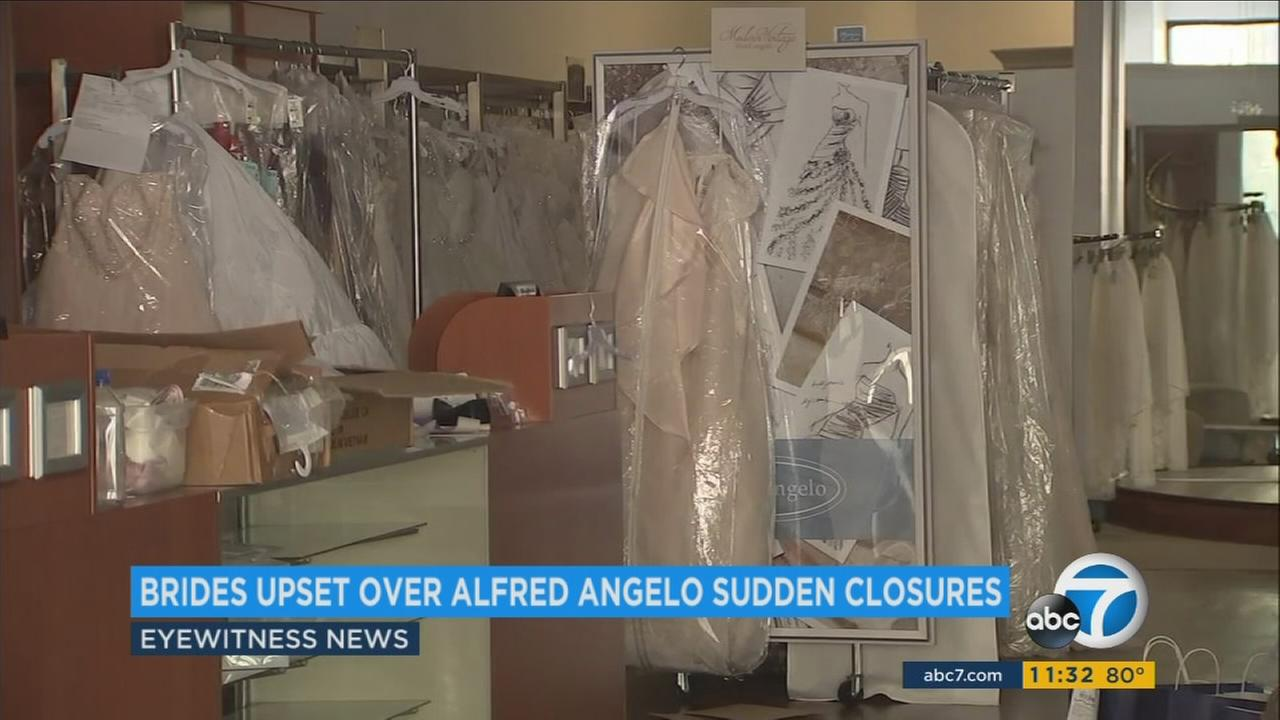 Alfred Angelo bridal shop files for bankruptcy, closes all stores, including 6 in SoCal