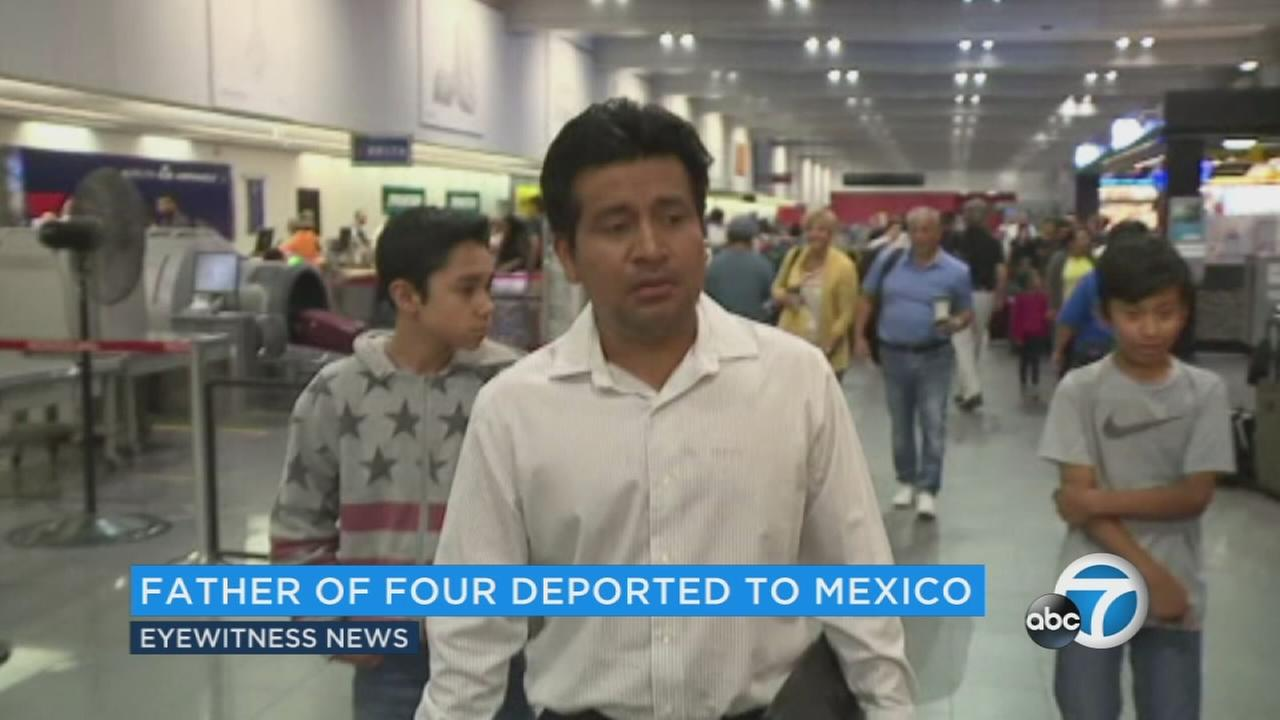 Jesus Lara Lopez, who was never charged with a crime, was forced to leave his family behind in Cleveland and return to Mexico Tuesday morning.