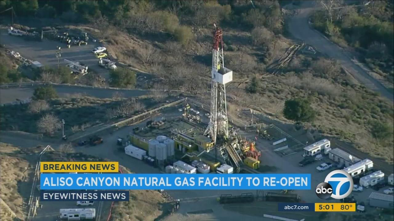 An undated photo of the Aliso Canyon gas storage facility, which was approved by state officials Wednesday, July 19, 2017, to reopen.