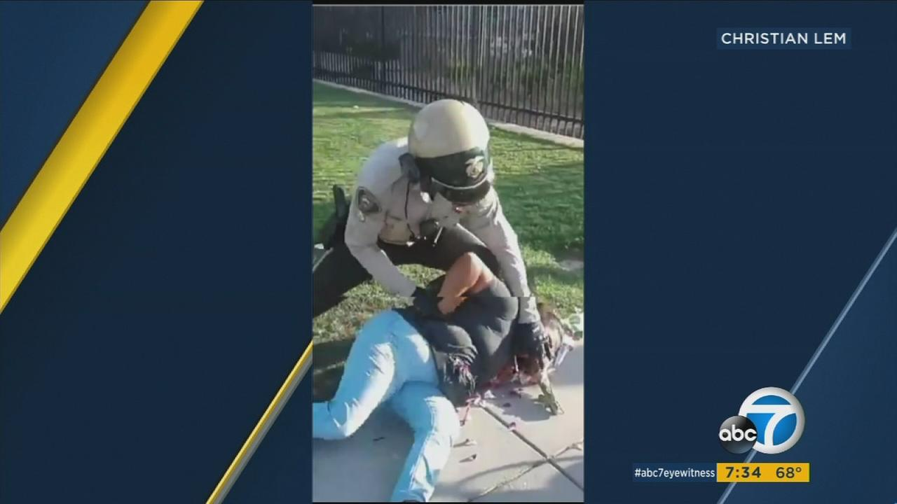 Video shows the violent arrest of a street vendor in Perris on June 7, 2017.