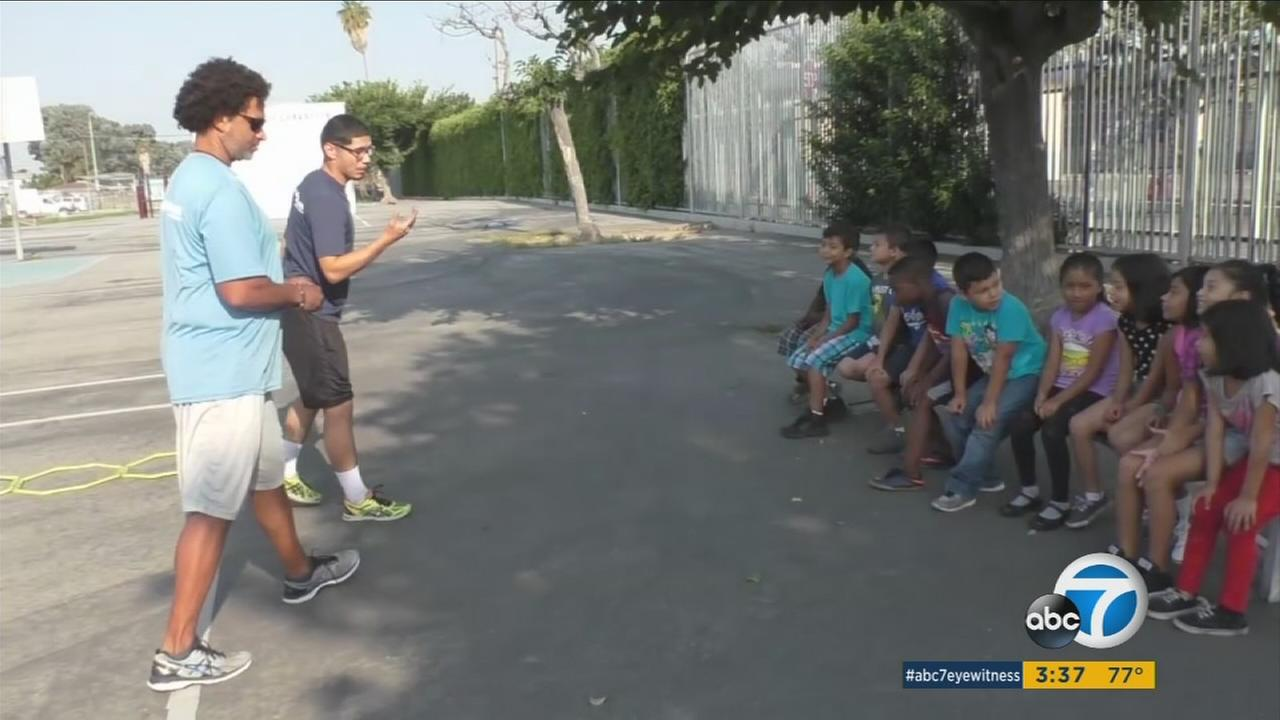 Nonprofit starts Watts kids on road to college
