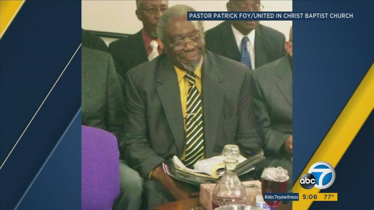 Friends and churchgoers are mourning the death of Rev. Willie Hunter, a 79-year-old minister who was found stabbed to death in his Apple Valley home.
