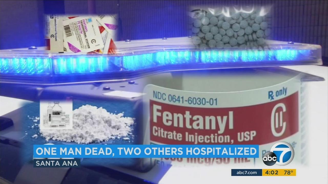 Fentanyl is seen in an undated file photo.