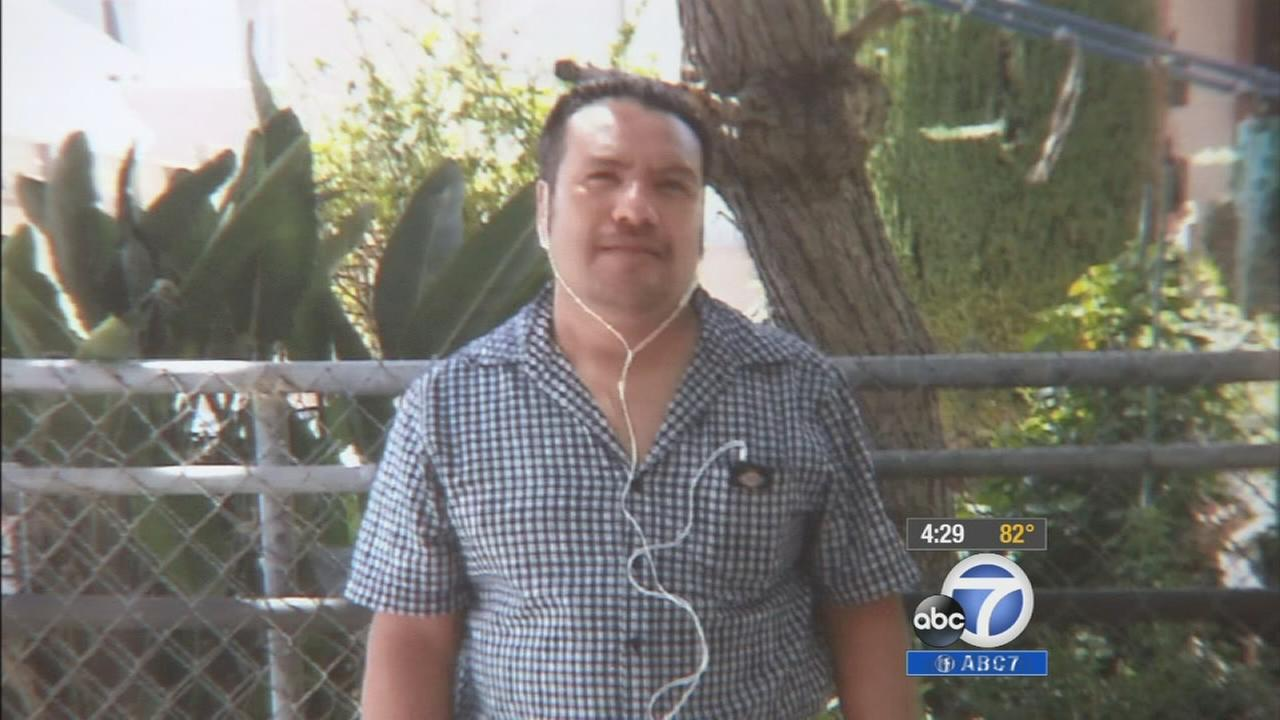 Javier Hernandez, 45, was killed in a hit-and-run accident in Koreatown on Monday, July 28, 2014.