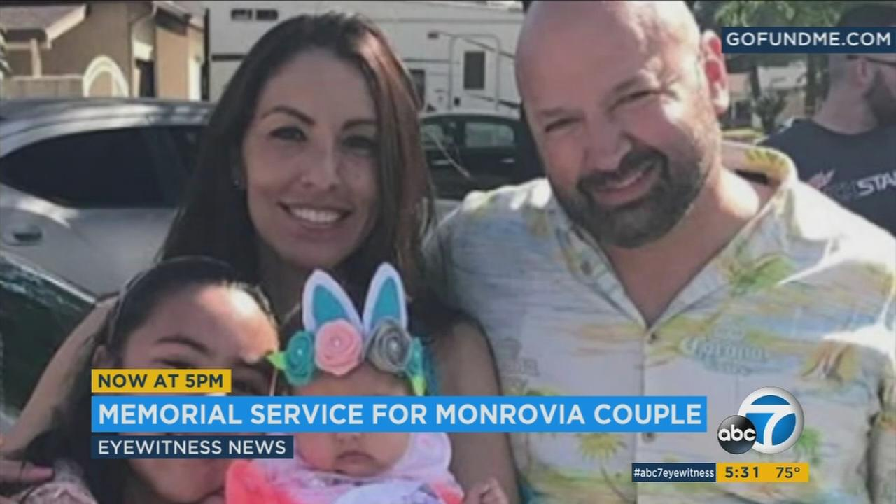 Esmeralda Gonzalez, 41, and her husband Raul Gonzalez, 44, are shown in a file photo on a GoFundMe page set up for their funerals.