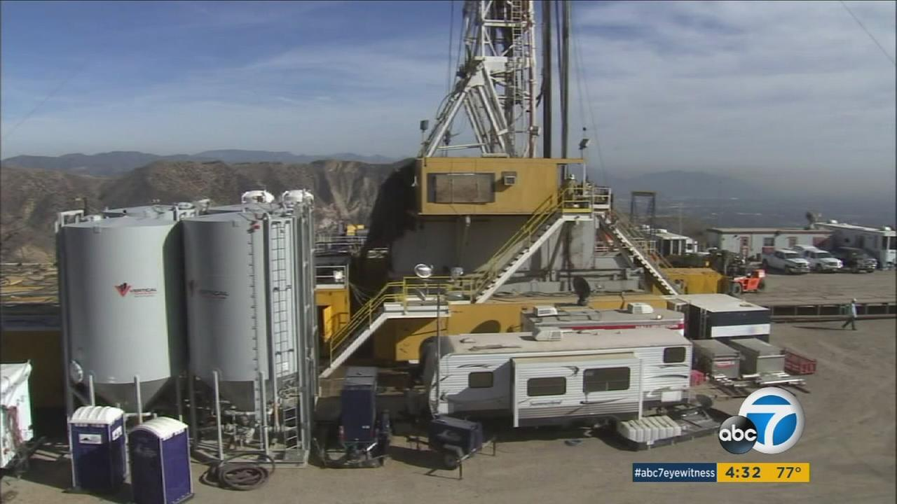 The Aliso Canyon gas storage facility is shown in Porter Ranch in an undated file photo.
