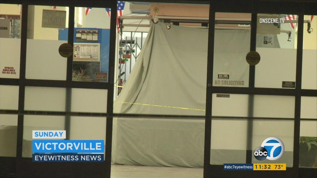 Female clerk robbed, stabbed to death at Victorville indoor swap meet