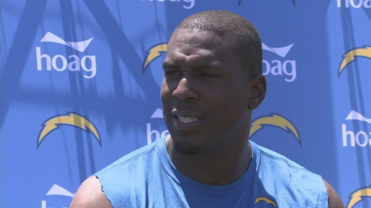 Antonio Gates talks about his experience at the Pro Football Hall of Fame induction ceremony.
